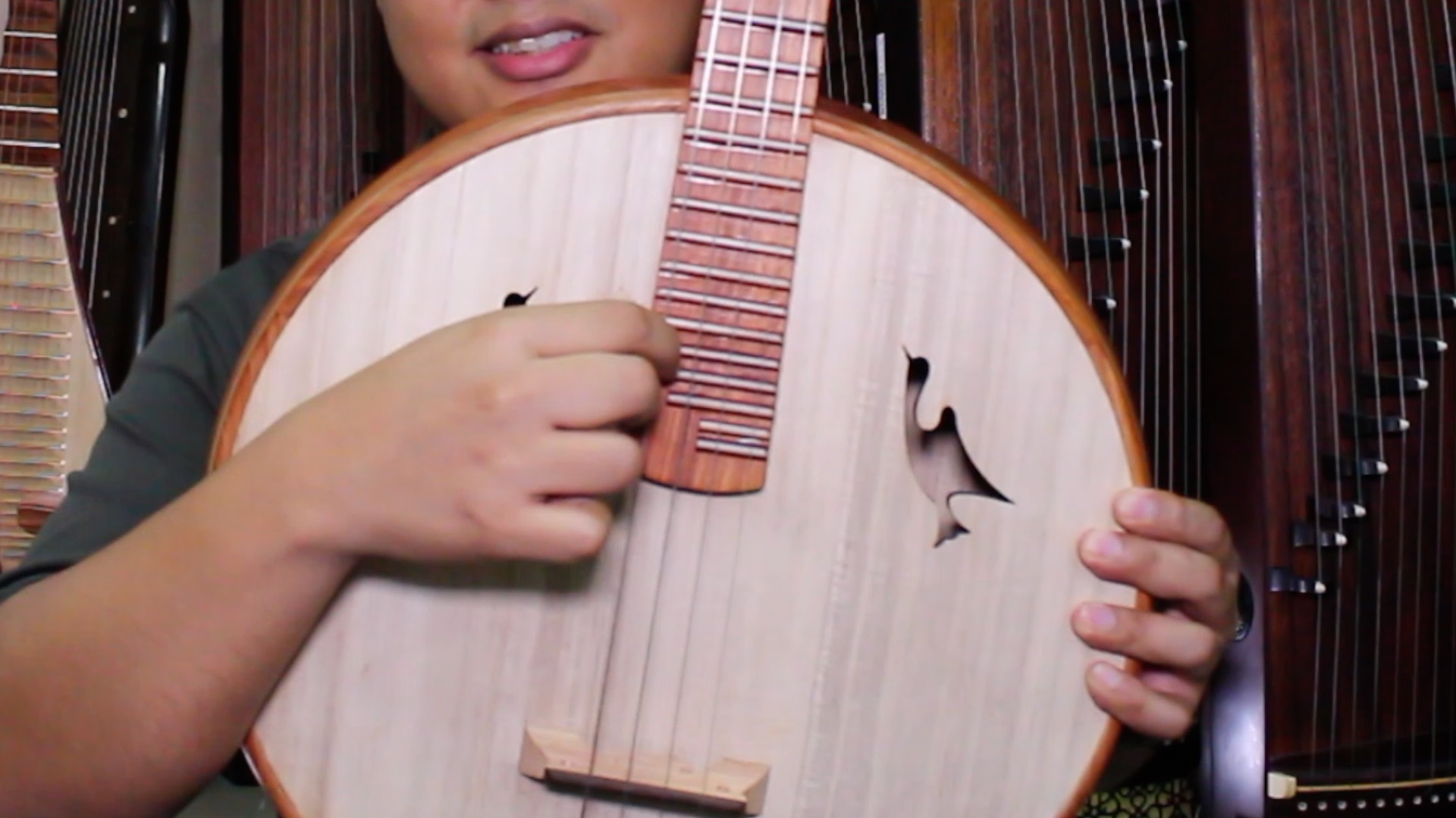 1. Strings placement